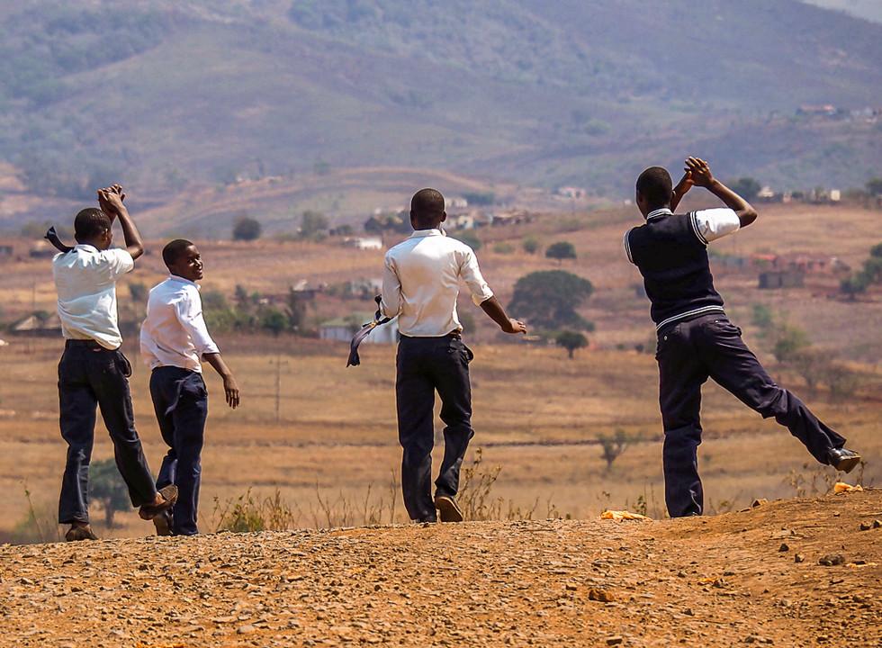 On Break in S. Africa