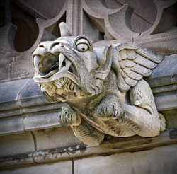 Washington National Cathedral Gargoyle