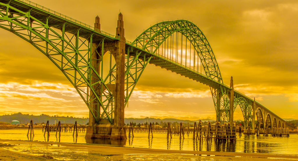 3rd - Yaquina Bay Bridge-Neport OR