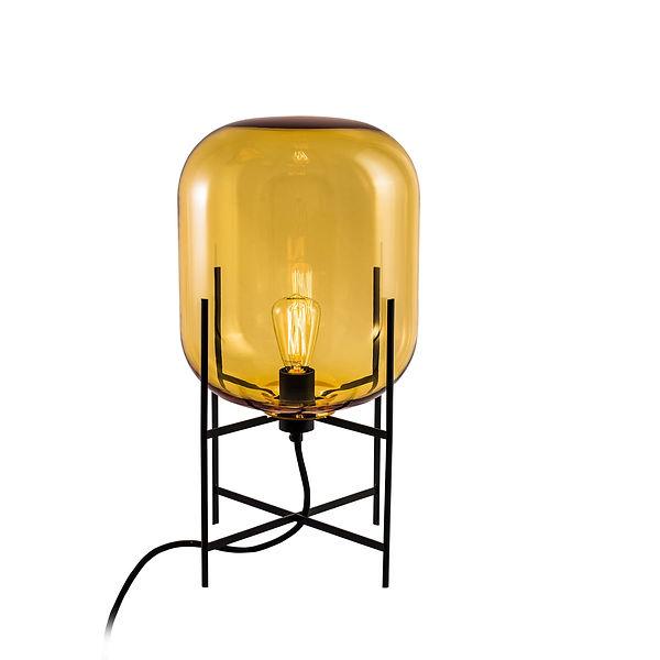Pulpo-Oda-Leuchte-small-amber-Untergeste