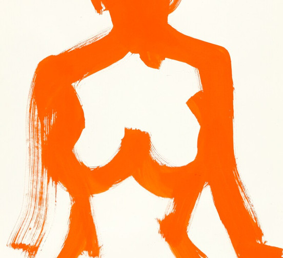 Standing Orange