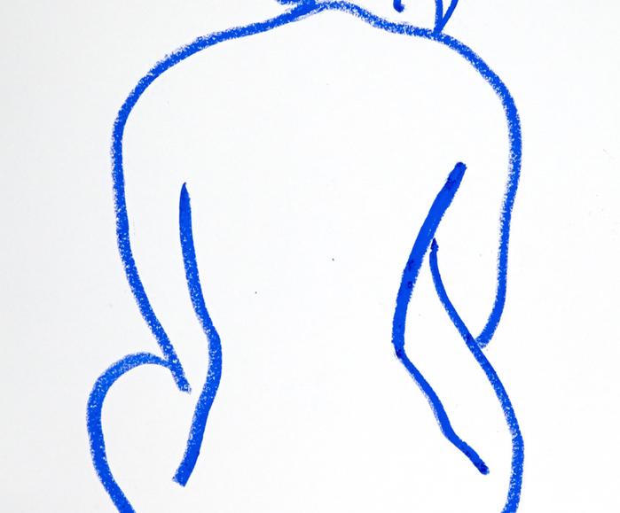 BLUE BACK
