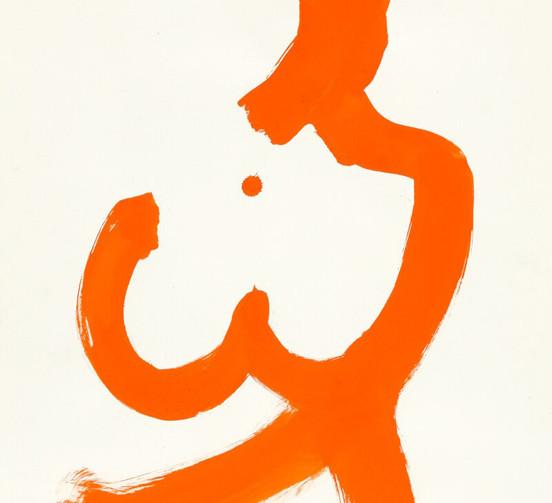 Crossed Arm Orange