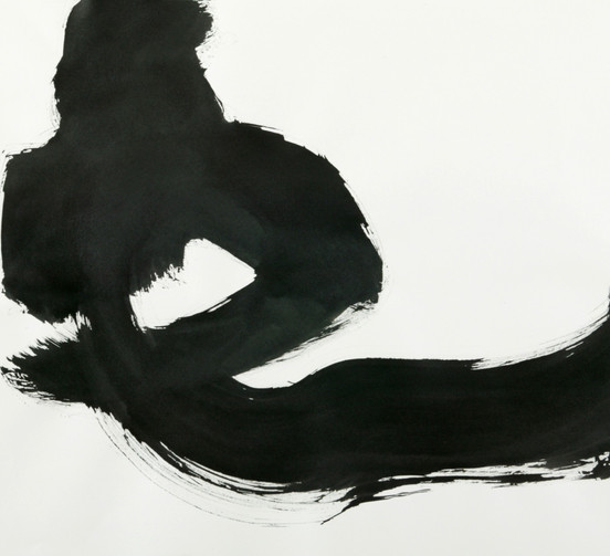 Abstract Reclined Nude