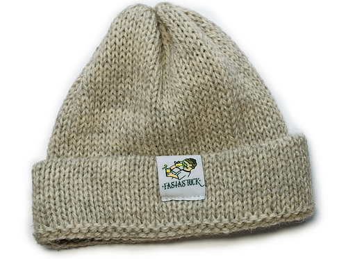 Wool Hat - Light Grey