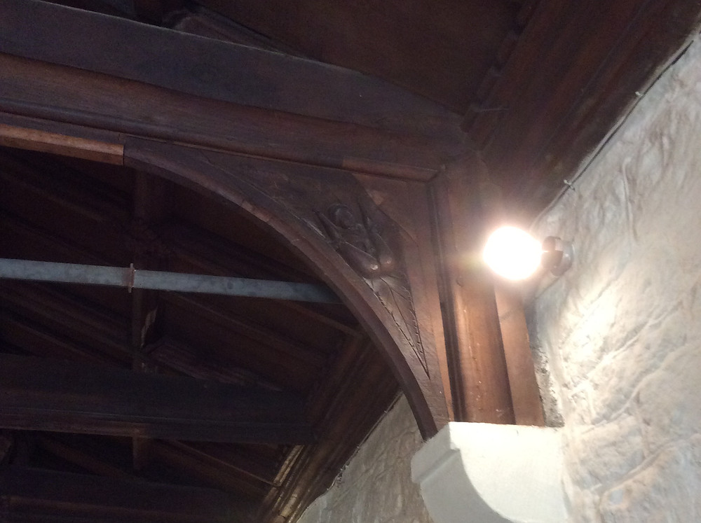 Spandrel flasher in All Saints Church, Hereford