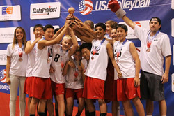 14 Red, Gold Medal - Nationals 2014