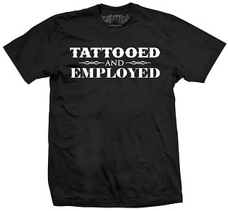 tattooed and employed