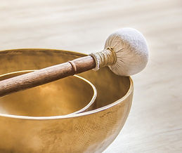 Can you hear the beautiful Tibetan Singing Bowls?