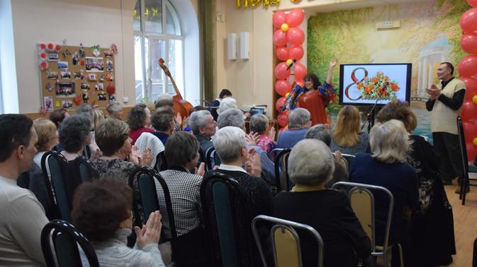 Праздничный концерт к 8 Марта в филиале Покровское-Стрешнево