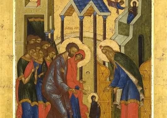 Всех православных с праздником Введения во храм Пресвятой Богородицы!