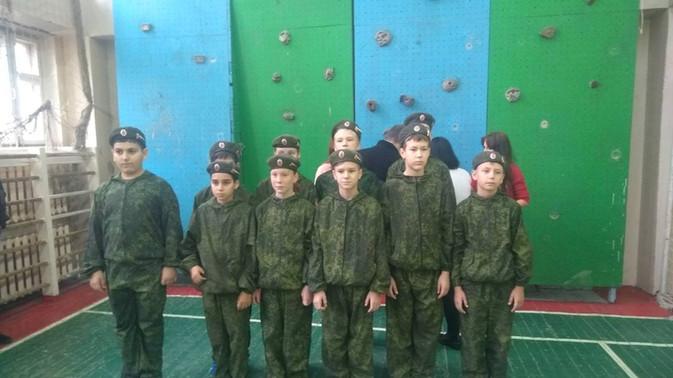 Военно-спортивная игра «Вперед, кадет!» среди кадетских классов  города Тольятти