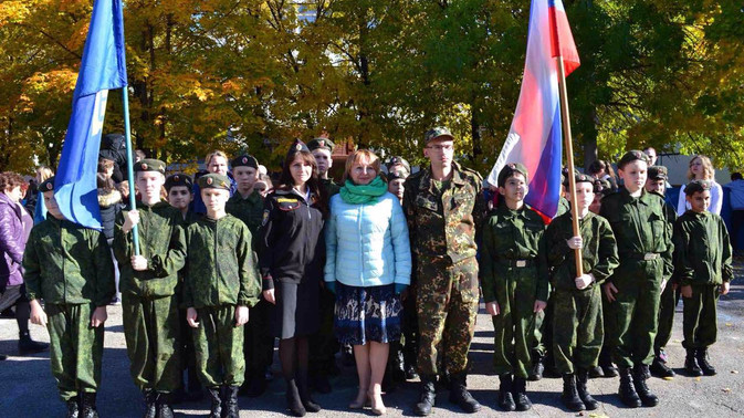 Торжественное открытие Спартакиады в городе Тольятти