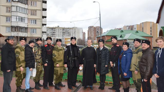 Рождественские Богослужения с участием казаков ТМО ВБКВ РФ