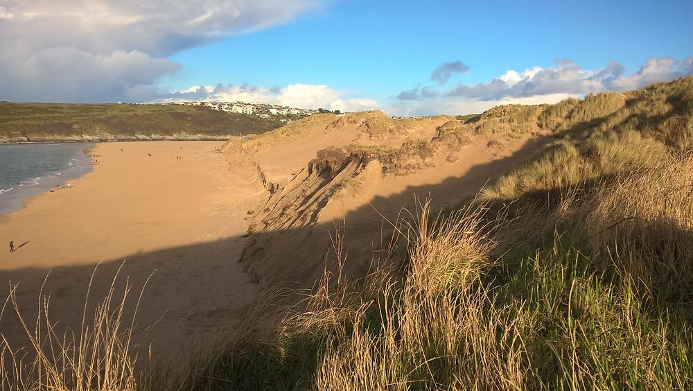 Crantock Beach Cornwall