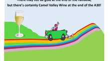 No gold at the end of the Rainbow, but there's wine at the end of the A30!