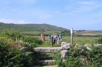 Walking Holiday in Cornwall