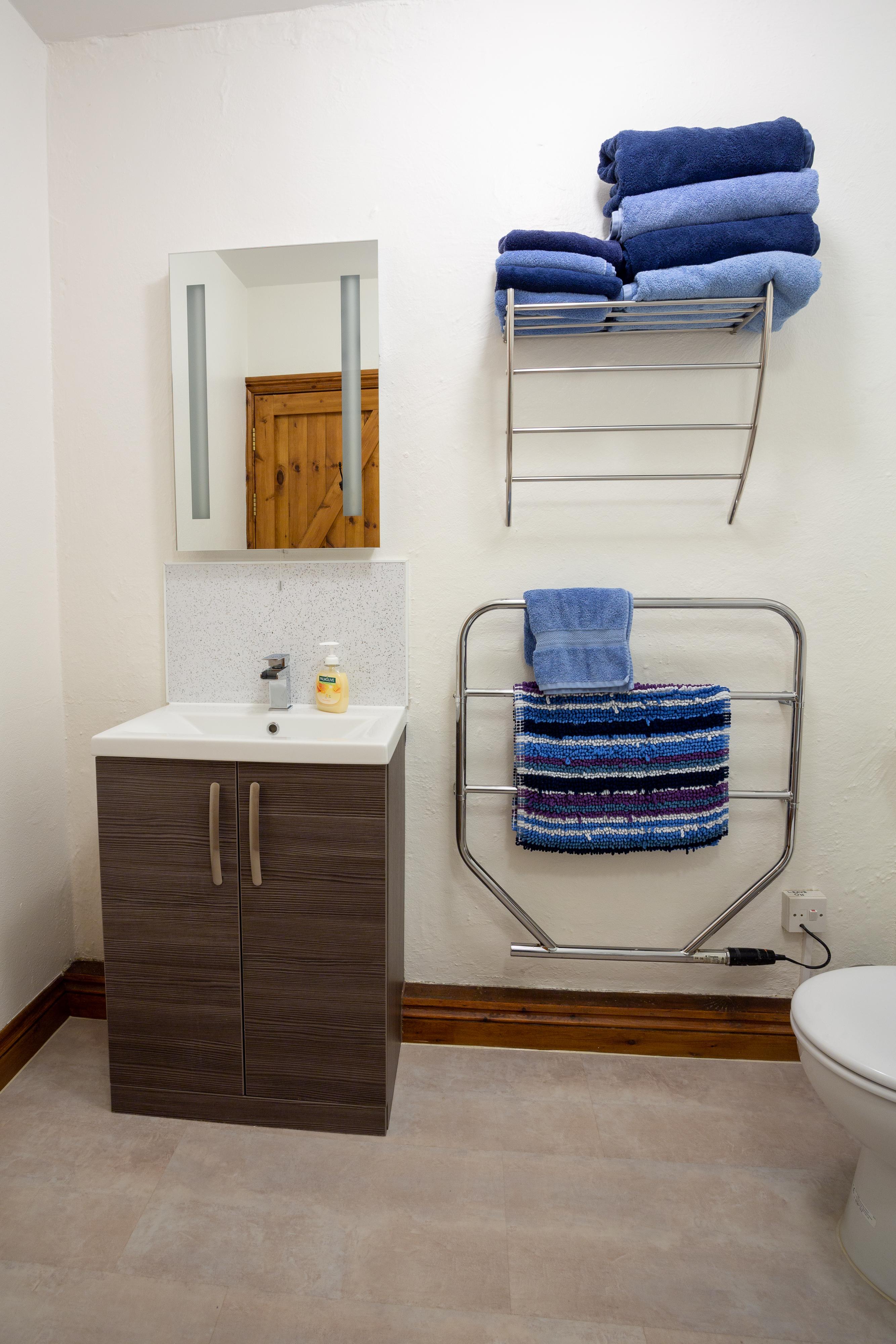 Newly refurbished bathrooms