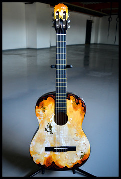 Midnight Sun Guitar - SOLD