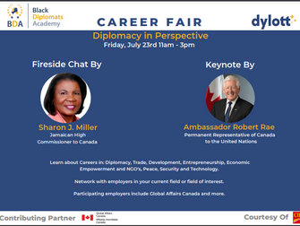 """Career Fair - """"Diplomacy in Perspective, July 23rd 2021"""