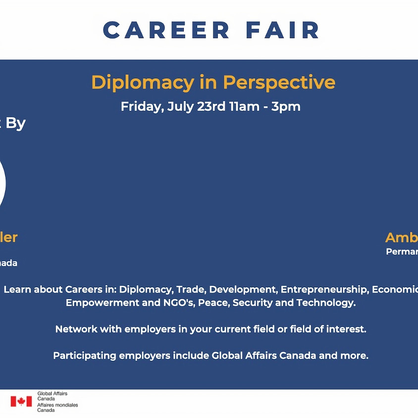 Career Fair - Diplomacy in Perspective
