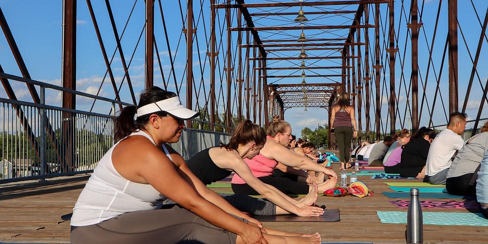 Educate210: Teacher Yoga at Confluence Park