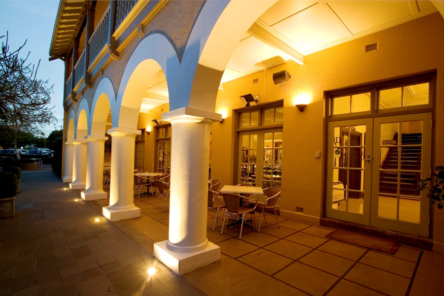 Springs Hotel Verandah