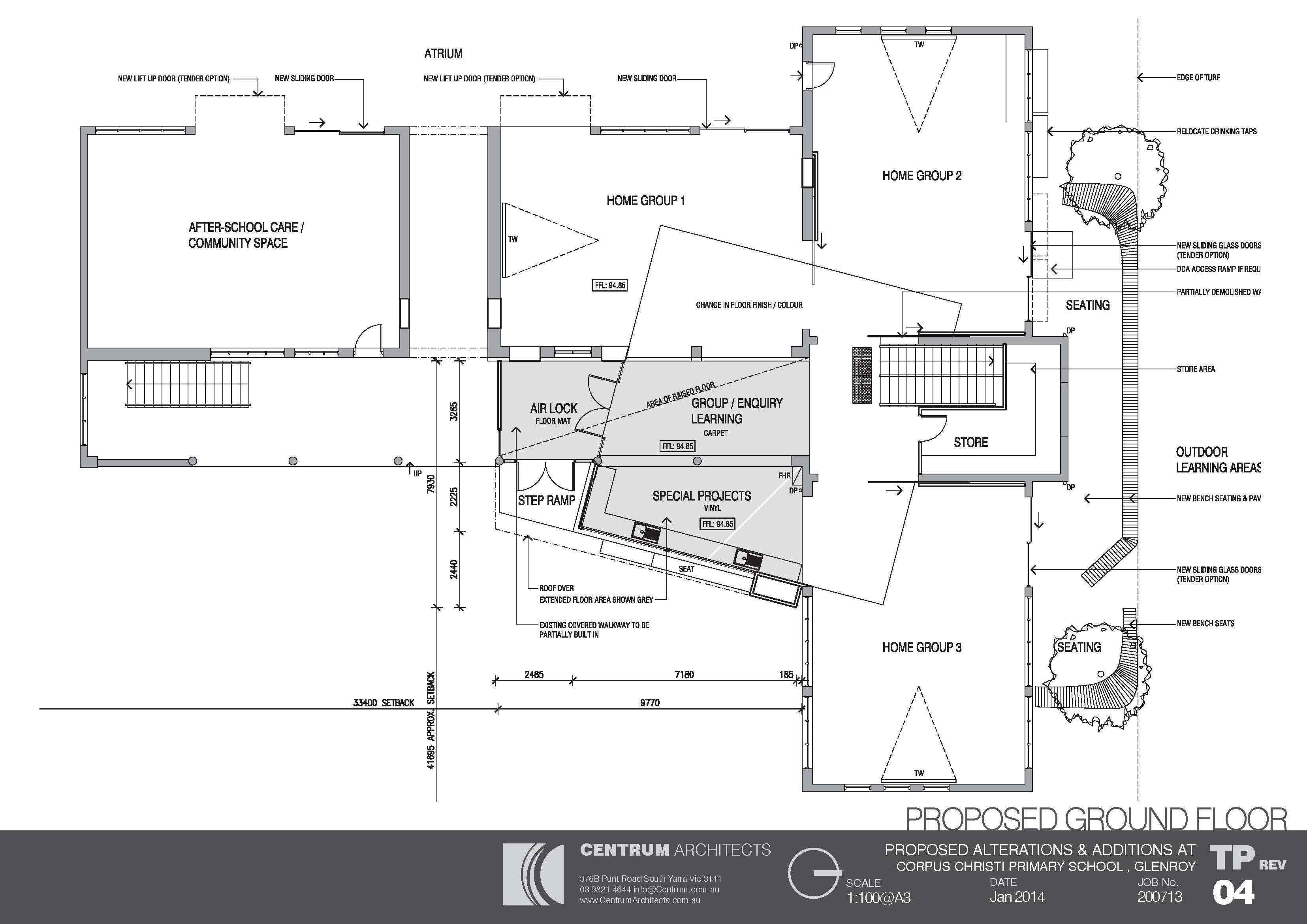 Corpus Christi Glenroy 2 Plan