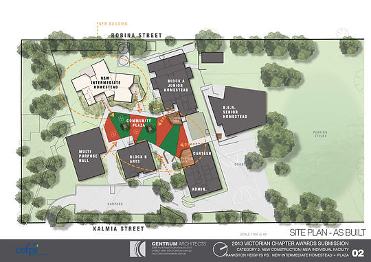 Centrum Architects, Educational Facility Planner, Educational Design, School Master Plan, Site Plan, School Community Space,