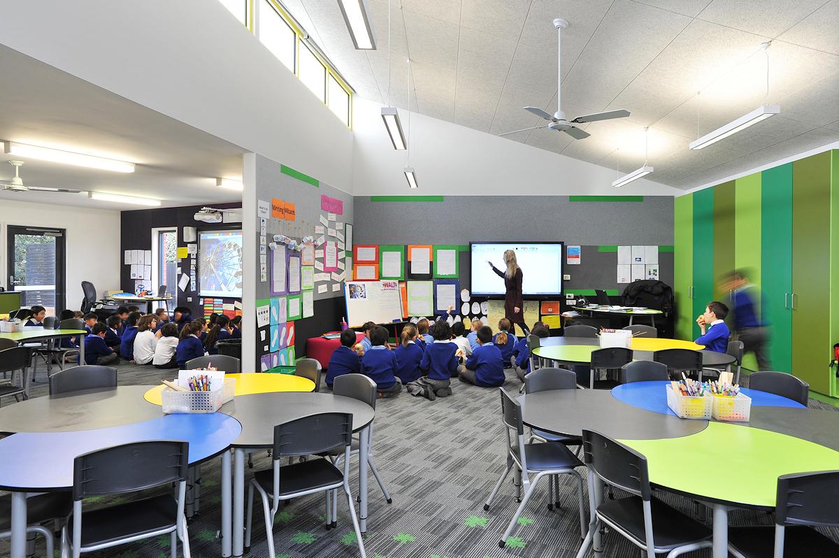 Corpus Christi 3/4 new classroom