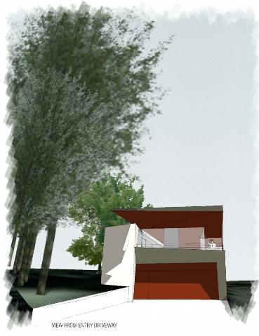 Lakeside House Entry
