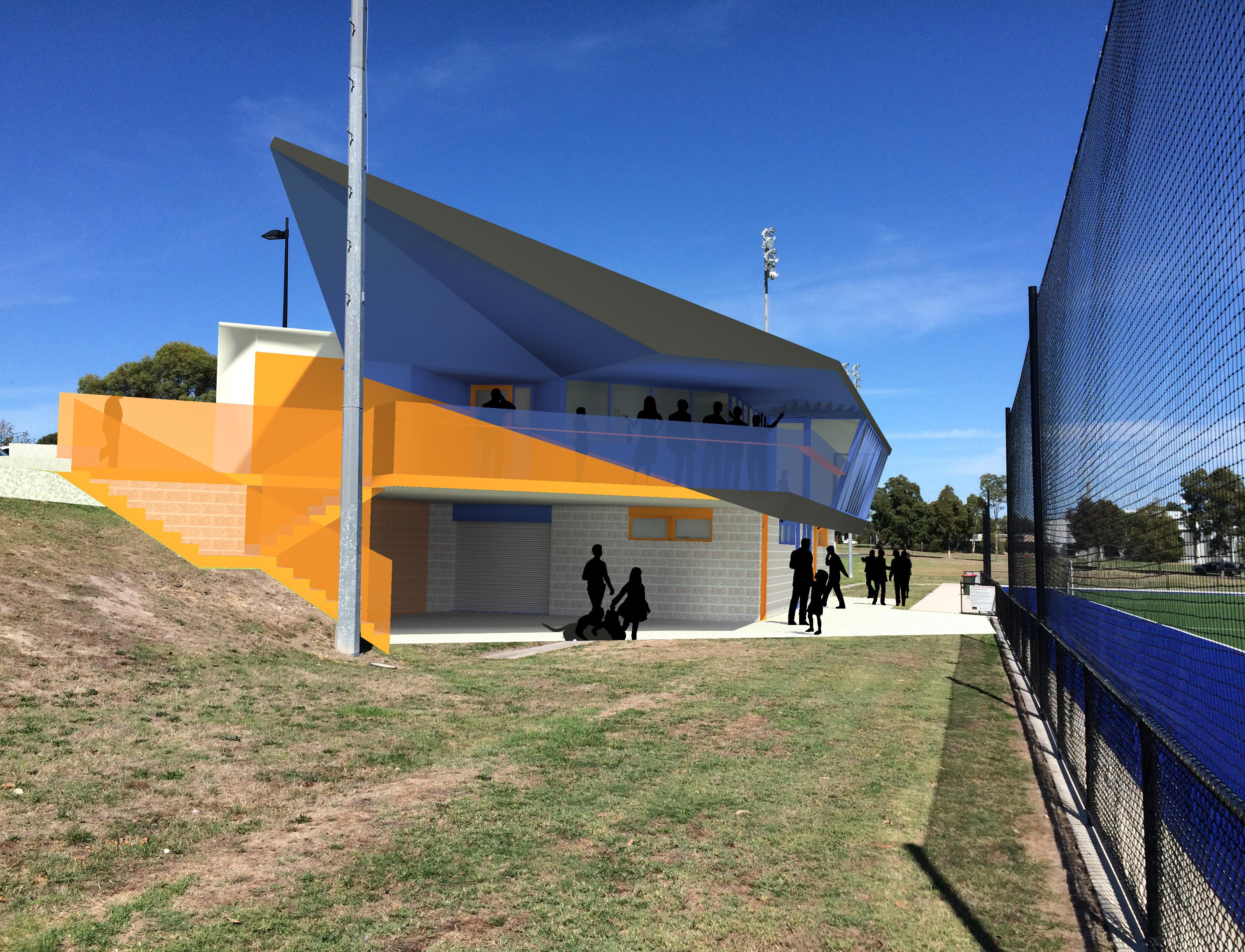 Churchill Pavilion Photomontage