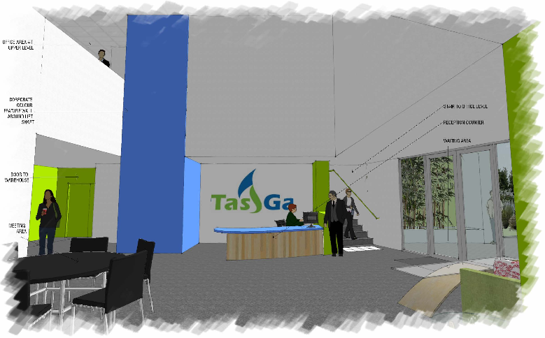 TasGas Reception