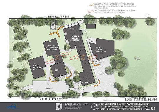 Centrum Architects, Educational Facility Planner, Educational Design, School Master Plan, Site Plan