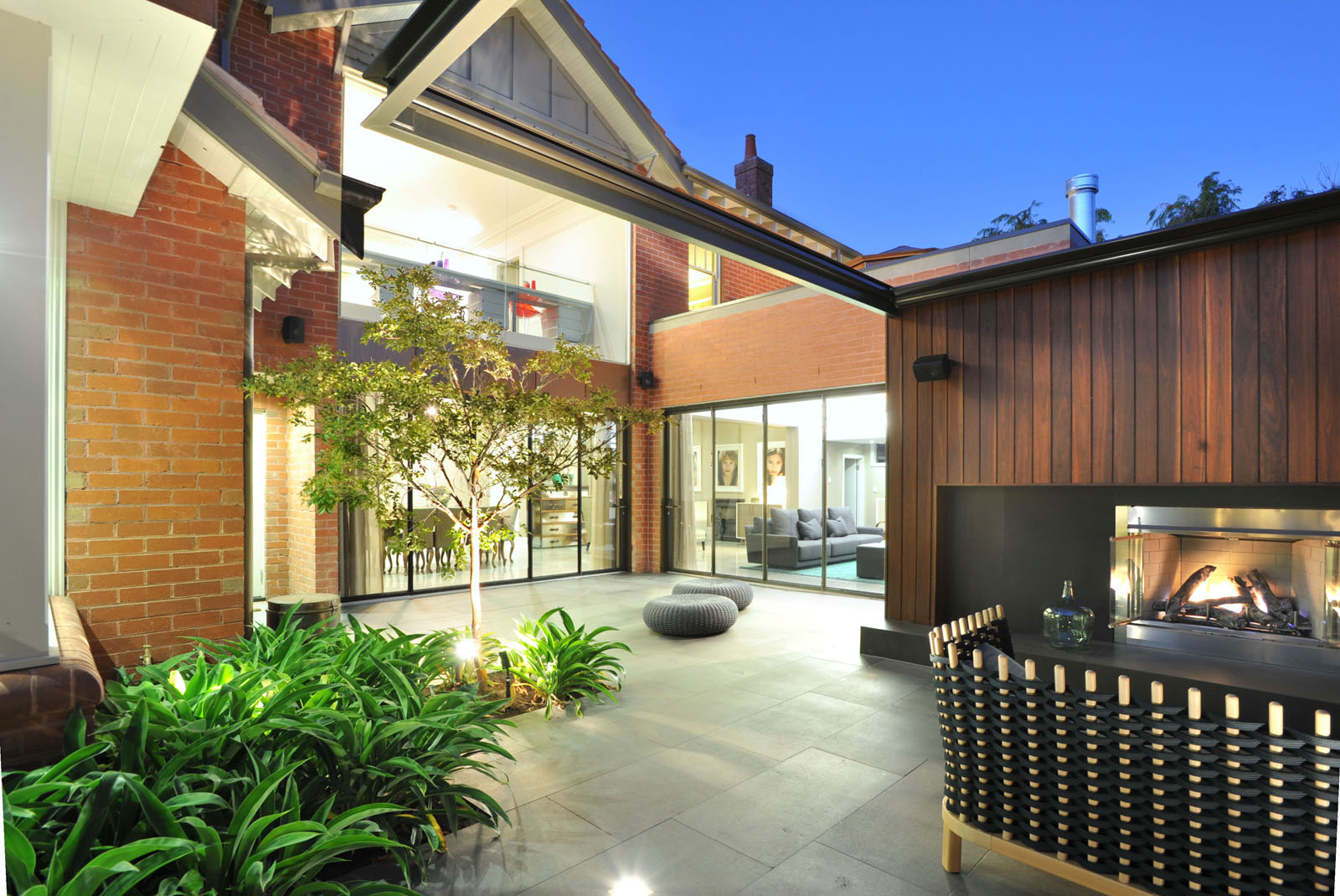 Malvern Rebirth Courtyard