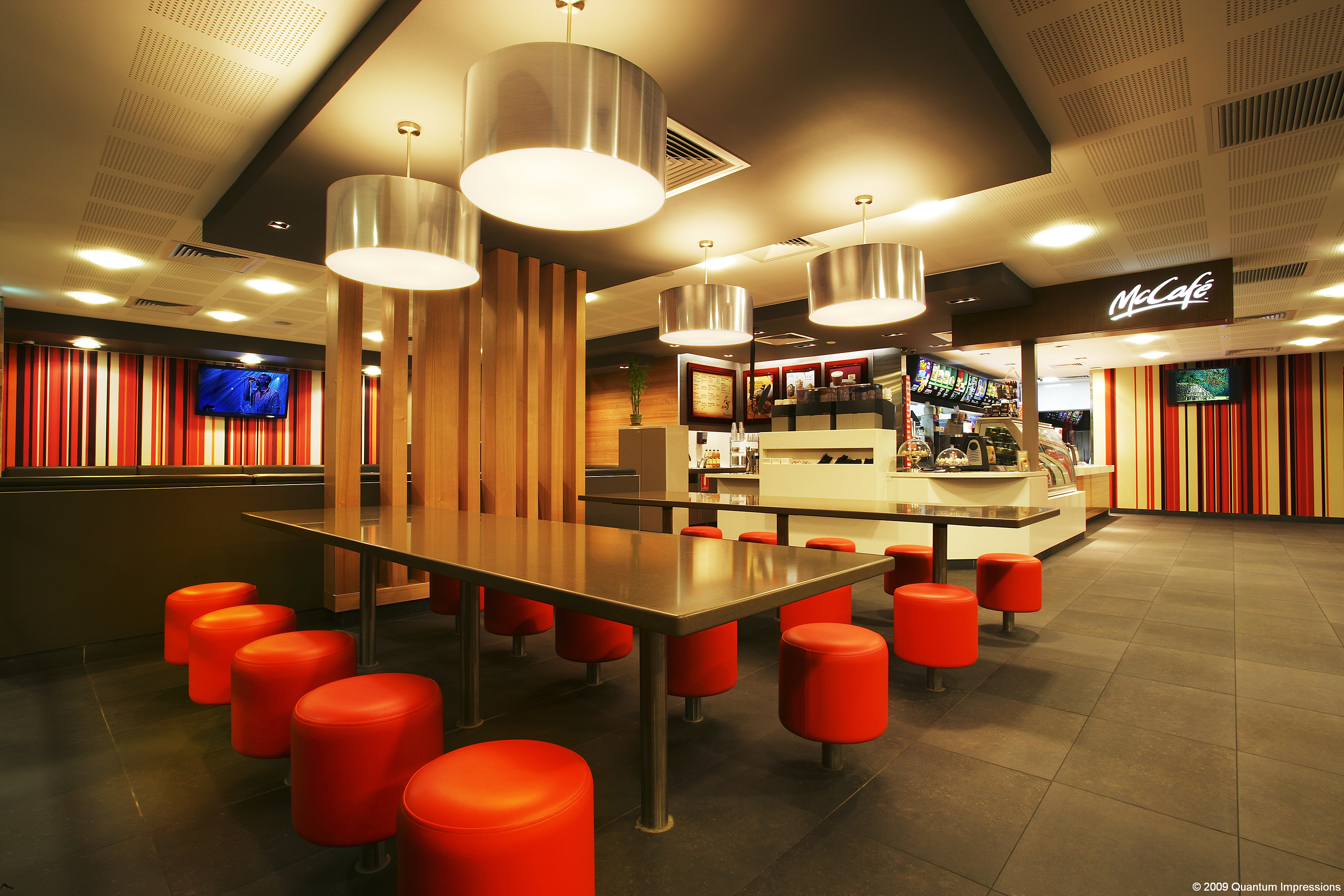 McDonalds Interior Dining