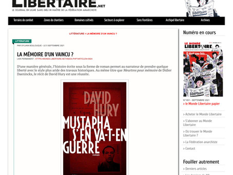 Mustapha s'en va-t-en guerre (Le Monde Libertaire)