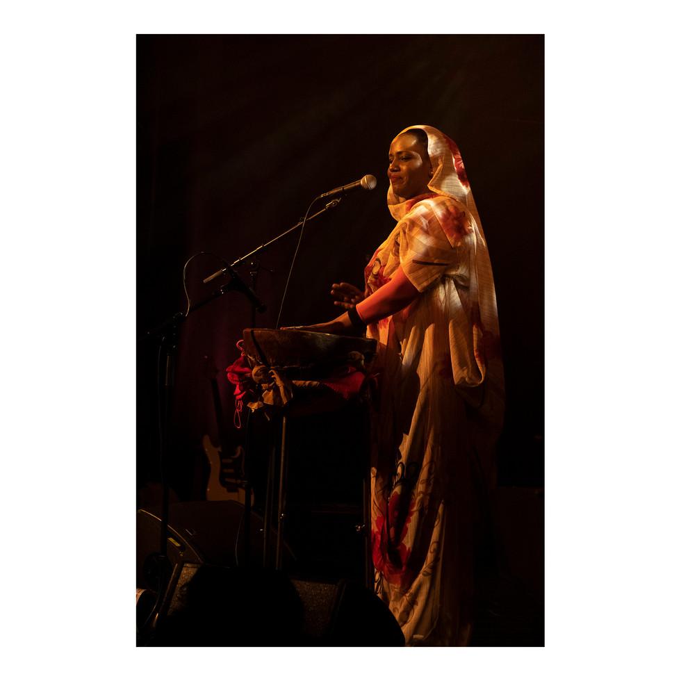 Concert d'Aziza Brahim.