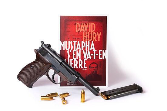 Mustapha s'en va-t-en guerre, roman de David Hury