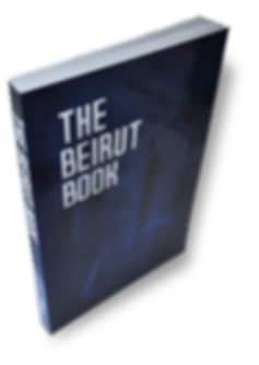 david hury,auteur,livre,the beirut book,tamyras