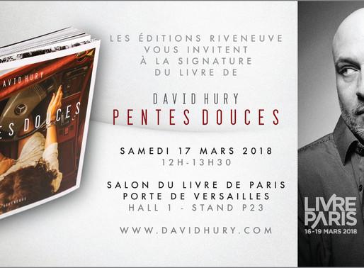 Au Salon du livre de Paris le 17 mars