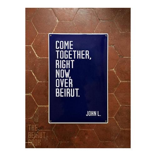 John L. vs. Beirut