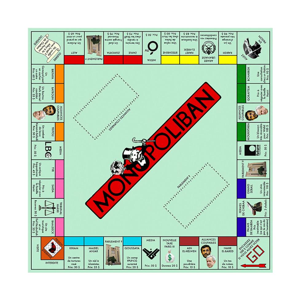 Version libanaise du Monopoly