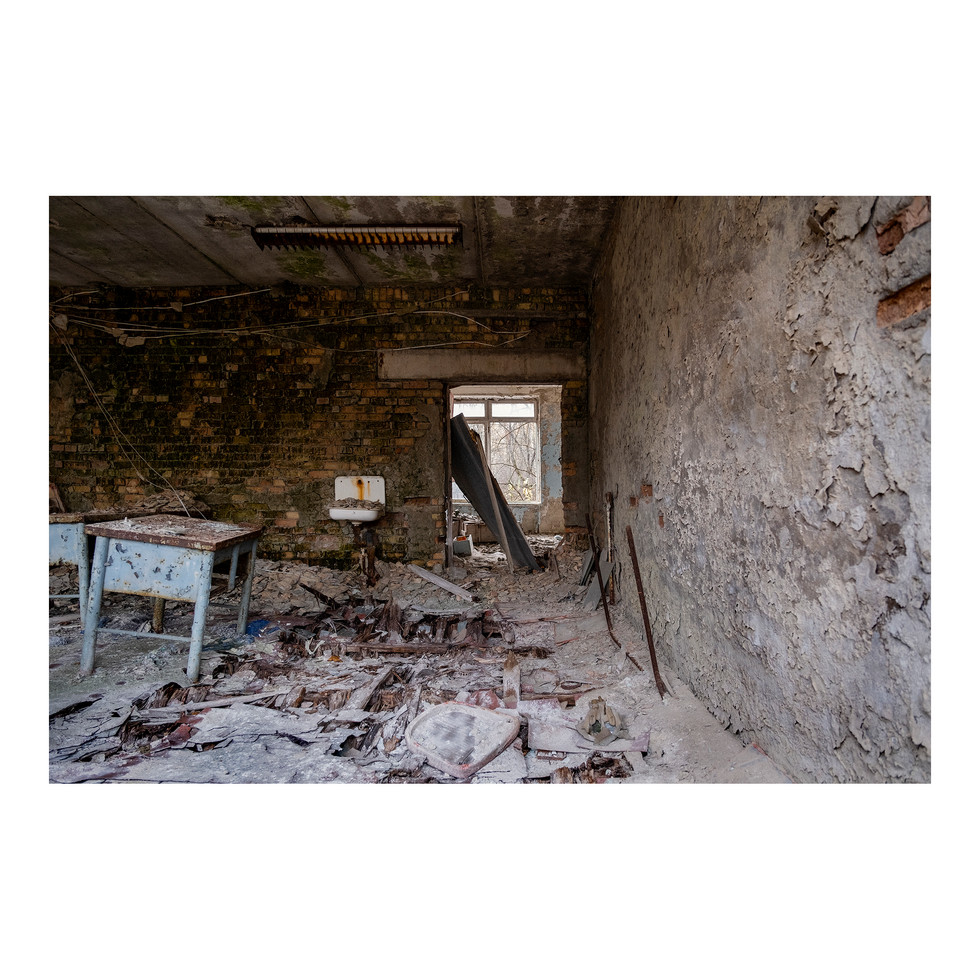 Pripyat, l'école