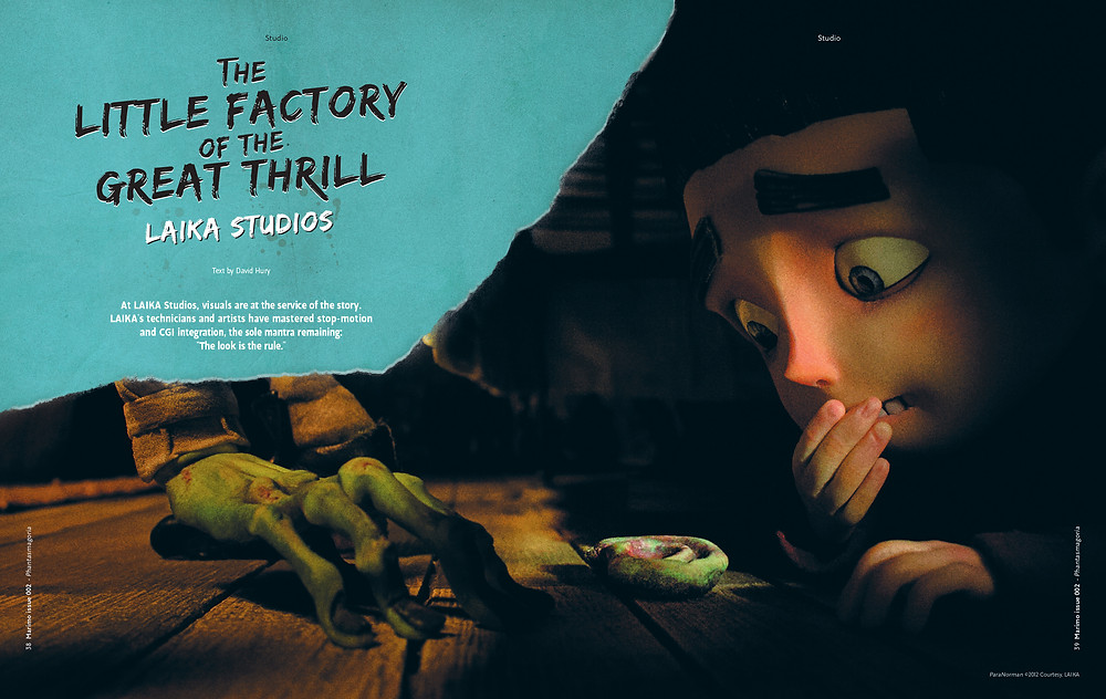 Laika Studios in Marimo Mag nº2, article de David Hury