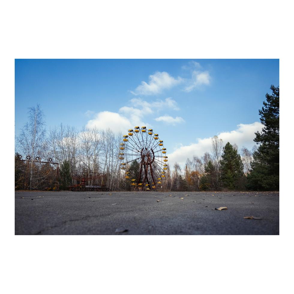 Pripyat, la fameuse grande roue du lunapark.