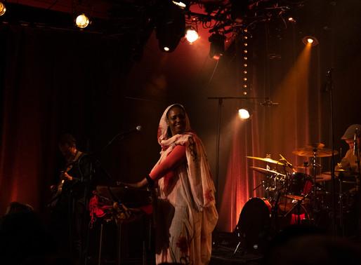 Aziza Brahim en concert