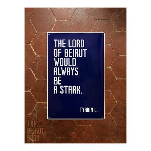Tyrion L. vs. Beirut