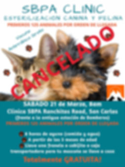 Clinic Flyer March 21 CANCELED Web Versi