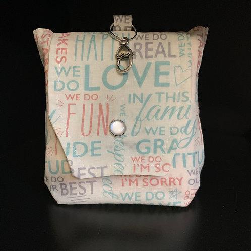 Eco Friendly Reusable Bag - Love